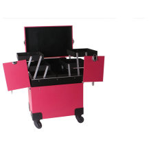 Three Layers Cosmetic Trolley Make up Case