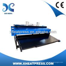 2017 grossista de pano hidráulico máquina de imprensa de calor, máquina de impressão de t-shirt digital