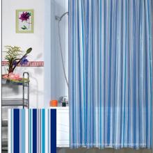 Großhandel 100% Polyester New Style Badezimmer Wasserdicht Duschvorhang