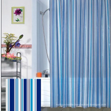 Wholesale 100% Polyester New Style Bathroom Waterproof Shower Curtain