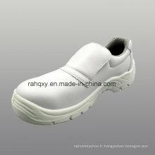 Chaussures de sécurité professionnelles microfibre blanc (HQ05023)