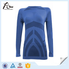 Body Shape Women Shirts Long Sleeve Thermal Top