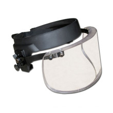 Escudo facial balístico de alta definición derrota 9mm