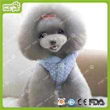 Fashion DOT Pattern Jean Pet Dog Clothes