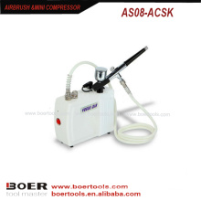 Airbrush mini kompressor kit tragbare nagel malerei mini kompressor