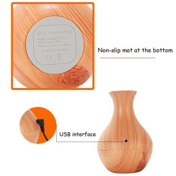 130ml Ultrasonic Mute Humidifier Aromatherapy Diffuser