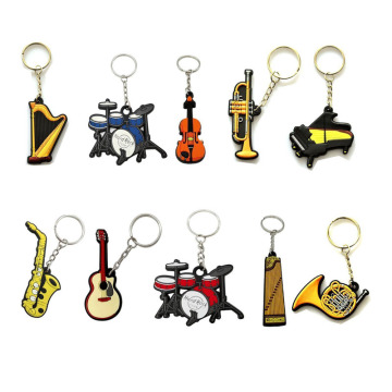 Kustomisasi Mode Yellow Silicone Key Ring
