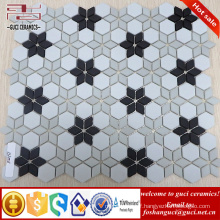 chinese supplier 2017 New Parquet design crystal glass mosaic wall tile