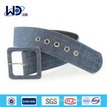 Wide Waist Canvas Brand Belt For Coat