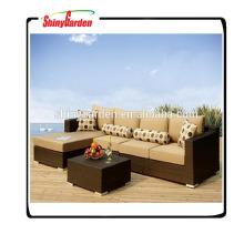 utilisé canapé en rotin à vendre, l en forme de rotin canapé ensembles, rotin luxe canapés meubles d'extérieur