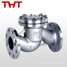 stainless steel natural gas piston 2 spring reverse flow check valve