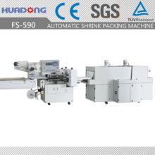 Retractiladora de flujo automático alta velocidad contracción Envolvedora