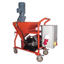Machine de plâtrage semi-automatique de jet de la pompe N2 de plâtre pour le mur