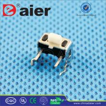 Daier KFC-003E 7.3 * 4.25 Botão Branco Interruptor Tact SMD