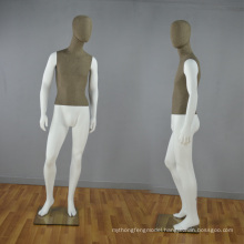 Fabric Wrapped Male Mannequin for Window Display