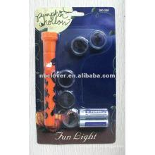 Linterna llevada plástica linterna del proyector de la insignia con la lente cinco