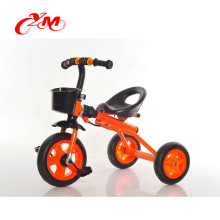 Alibaba three wheel bicycle for kids/new design can be fold baby tricycle/hot sale toddler bike