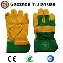 Protective Industrial Leather Work Gloves