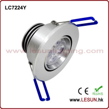 Vertieftes 5W LED unter Kabinett-Licht / Deckenleuchte LC7224y