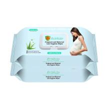 OEM Organic Adult Care Feminine Flushable Wipes