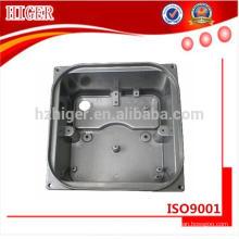 caixa de engrenagens de fundição de alumínio feito por encomenda para o cortador de escova