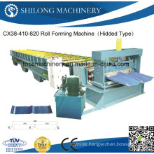 CE Approved Corrugated Sheet Glazed Tile Board Panel Roll Forming Machine