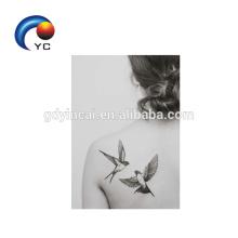 Birds Patterns Temporary Tattoo Sticker Woman Sexy Body Art Supply