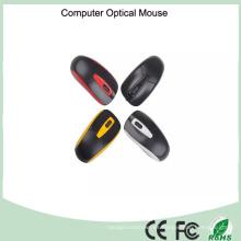 Mouse óptico atado con alambre colorido 1000dpi (M-801)