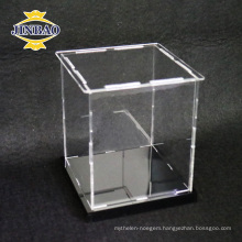 2017 China Professional Export Clear Acrylic Display Boxes for food storage