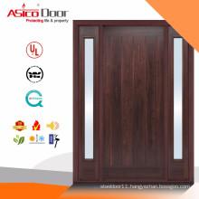 ASICO Fire RatedWood Glass Door Design With BM TRADA Certificate