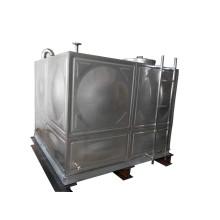 Tanque de armazenamento de água de aço inoxidável OEM