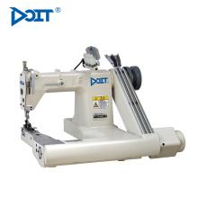DT928DL dupla agulha se alimentar do braço industrial máquina de costura automática duas agulhas preços india