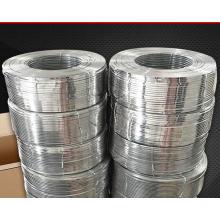 Fil d'acier galvanisé plat à haute teneur en carbone