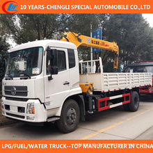 China 4X2 LKW montiert Kran 5ton 6ton LKW mit Kran