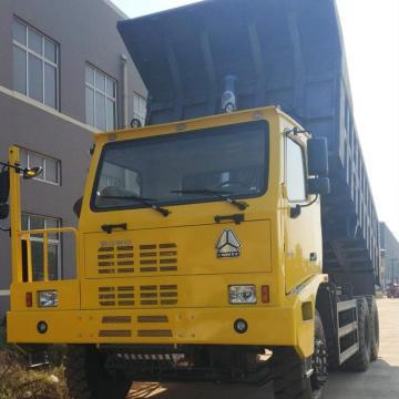 prix du dumper d'extraction de charbon sinotruk howo 50ton
