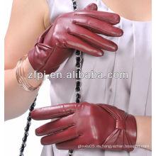 2014 guantes de marca de fábrica del invierno del diseño del bowknot de las muchachas