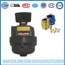 Medidor de fluxo de água de pistão rotativo tipo Kent