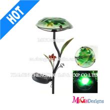 Metal Mushroom Light LED Outdoor Garden Solar Light