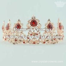 Wholesaler Bridal Crowns With Red Diamond