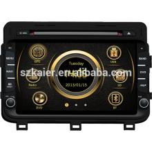 DVB-Т/ИБР-Т система вздрагивания автомобиль мультимедиа для Kia К5 2014/Оптима с GPS/Bluetooth/Рейдио/swc/фактически 6 КД/3G интернет/квадроциклов/ставку/видеорегистратор