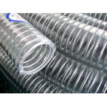 Manguera reforzada con alambre de acero de PVC