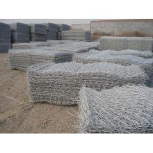Galvanized or PVC Gabion Box Factory/Hexagonal Wire Netting/Stone Cage