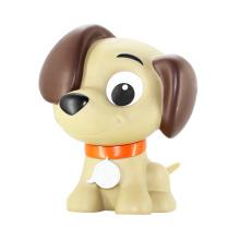 Lucky Dog, PVC Lovely cão forma, Decoração Plastic Dog Brinquedos para mostrar