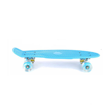 22 Inches Four-wheel Mini Longboard Surfboard Skateboard With Led Flashing Wheels