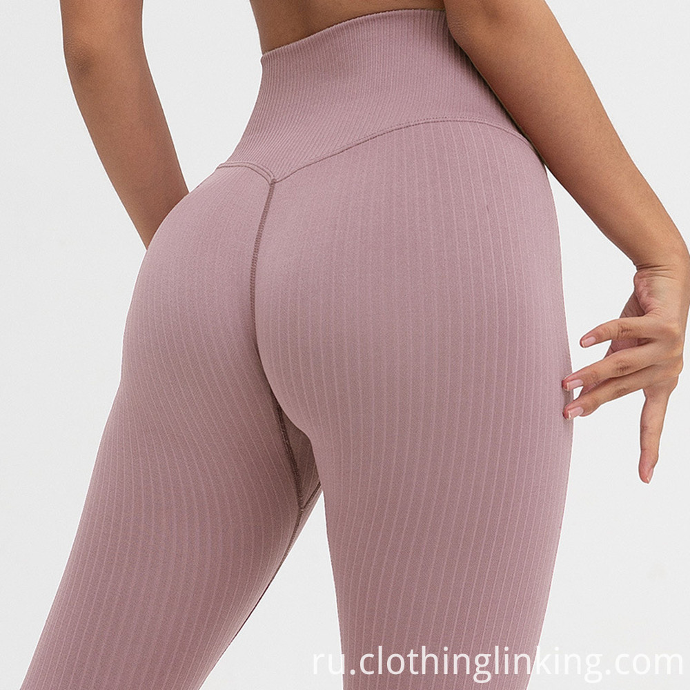 women's ribbed yoga outfits (4)