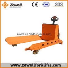 Novo porta-paletes elétrico de rolo de papel Zowell seguro
