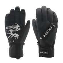 Guante de encargo barato al por mayor del esquí / guantes del invierno / guantes adultos calentados