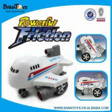 Friction power small toy plane that can fly