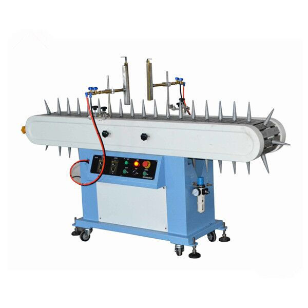 Flame treatment machine for PP material bottle