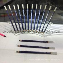 Crayon de plomb noir 3mm pour papeterie scolaire